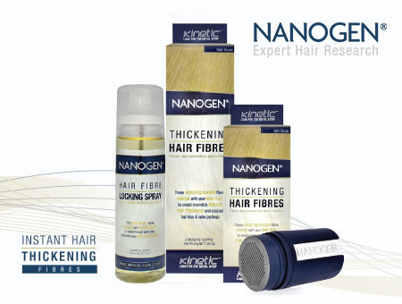 Hair Thickening Fibres Range