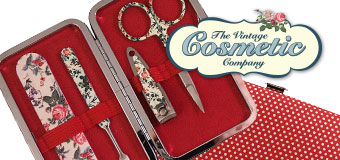 The Vintage Cosmetic Company Manicure Purse