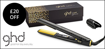 £20 off ghd - ends midnight Monday