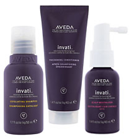 Aveda Complimentary Invati Sample Trio