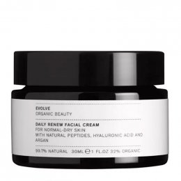 Evolve Beauty Daily Renew Facial Cream 30ml - Free Gift