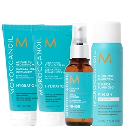Moroccanoil gift of choice-free gift