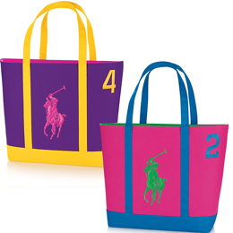 Ralph Lauren Big Pony Tote Bag - Free Gift