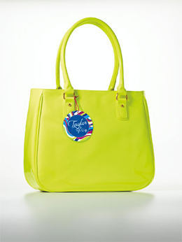 Taylor Swift Taylor Neon Green Bag - Free Gift