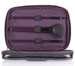 Wild About Beauty Makeup Bag & Mini Brush Set - Free Gift