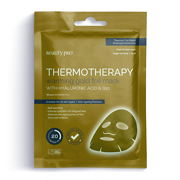 BeautyPro THERMOTHERAPY Warming Gold Foil Mask with Hyaluronic Acid & Q25 Masque en Feuilles d'Or 25ml