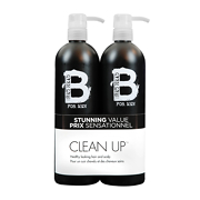 TIGI Bed Head For Men Clean Up Tween Shampoo & Conditioner Duo 2x750ml