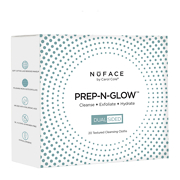 NuFACE PREP-N-GLOW 20 Lingettes Nettoyantes Pack