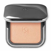 KIKO MILANO Glow Fusion Powder Highlighter 02 Heavenly Gold - Enlumineur poudre avec résultat modulable - 5g