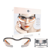 Skin Inc Optimizer Voyage Glasses for Bright Eyes Custom LED Light Treatment + Daily Dose Eye Cream 15ml