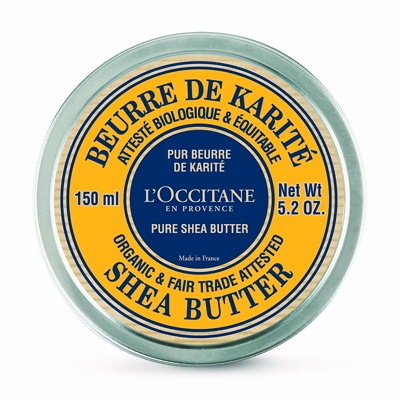 L'Occitane Organic Shea Butter 100% 150ml