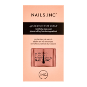 NAILSINC 45 Second Rapid Dry Top Coat Powered by Retinol 14ml