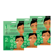 Yes To Cucumbers 2-Step Eye Kit Bundle 3 Pack