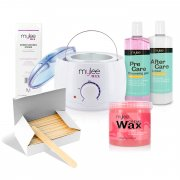 Mylee Waxing Kit with Rose Soft Wax