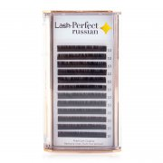 Lash Perfect Russian Varia Lashes C Curl Extra Fine 0.07 Short/Medium Mixed Length Tray