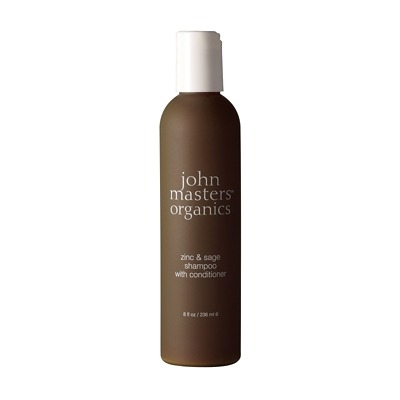 John Masters Organics Zinc and Sage Shampoo with Conditioner 236ml
