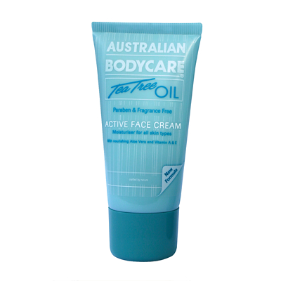 Australian Bodycare Tea Tree Oil Active Face Cream 50ml
