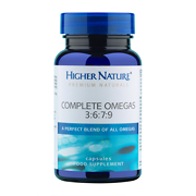 Higher Nature Premium Naturals Essential Omegas 3:6:7:9 Capsules