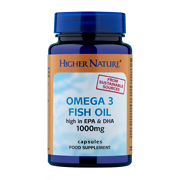 Higher Nature Omega 3 Fish Oil 1000mg Capsules