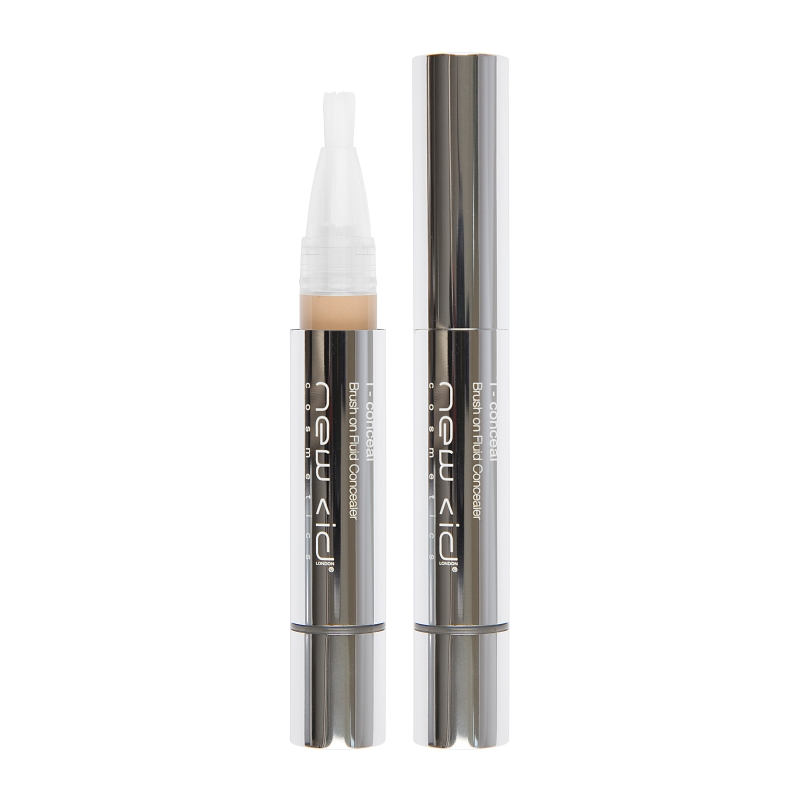 New CID Cosmetics i - conceal Brush on Fluid Concealer 3.9ml Medium