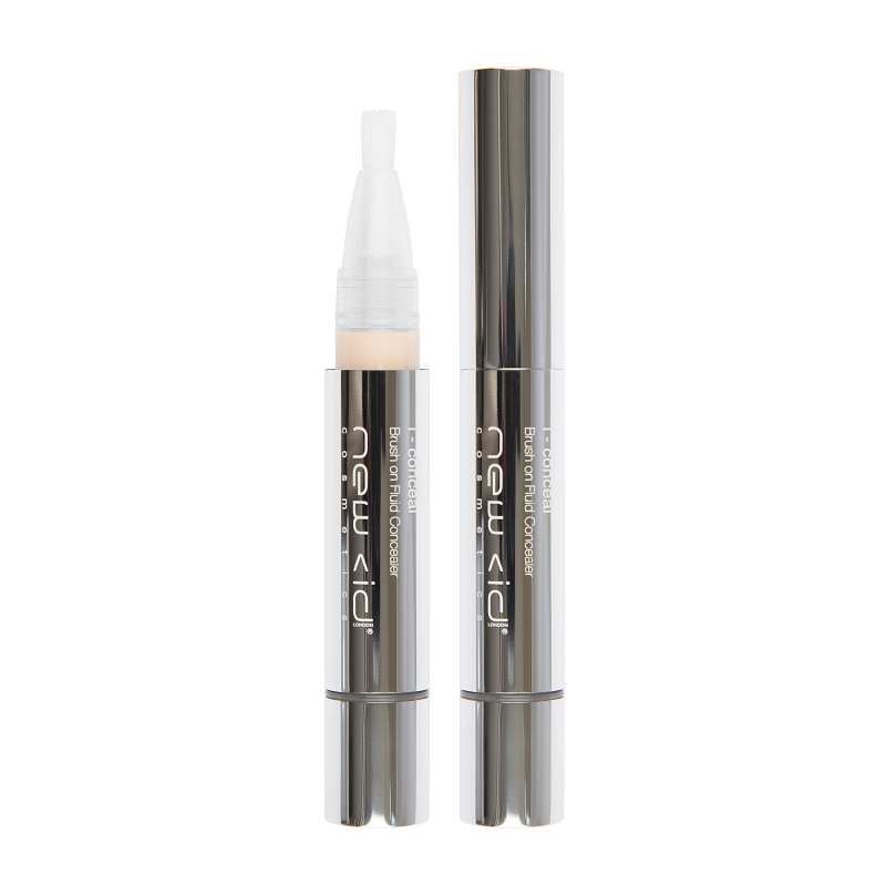 New CID Cosmetics i - conceal Brush on Fluid Concealer 3.9ml Extra