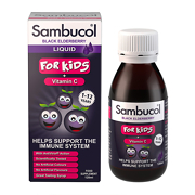 Sambucol Black Elderberry Extract Formula - For Children 120ml