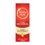 Seven Seas Pure Cod Liver Oil Extra High Strength Liquid
