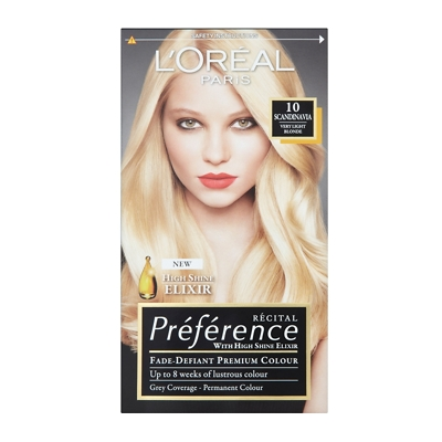 L'Oréal Paris Recital Preference Permanent Hair Colour