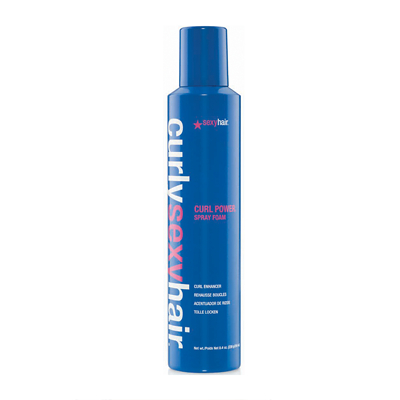 Sexy Hair - Curly Sexy Hair - Curl Power Spray Foam Curl Enhancer 250ml