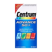 Centrum Advance 50+ Multivitamin/Multimineral 100 Tablets