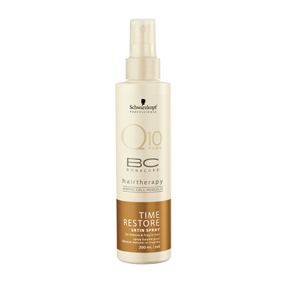 Schwarzkopf Professional Q10 Plus BC Bonacure Time Restore Rejuvenating Spray 200ml