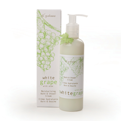 Di Palomo White Grape & Aloe Moisturising Bath & Shower Cream 250ml