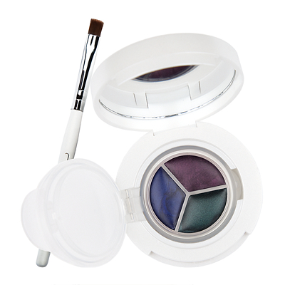New CID Cosmetics i - gel Long Wear Gel Eye Liner Trio with Brush