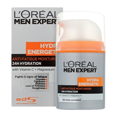 L'Oréal Paris Men Expert Hydra Energetic Daily Anti-Fatigue Moisturising Lotion 50ml
