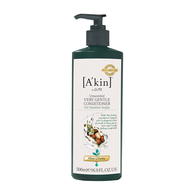A'kin Unscented, Wheat Free Very Gentle Conditioner 500ml