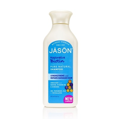 JASON Restorative Biotin Pure Natural Shampoo 473ml