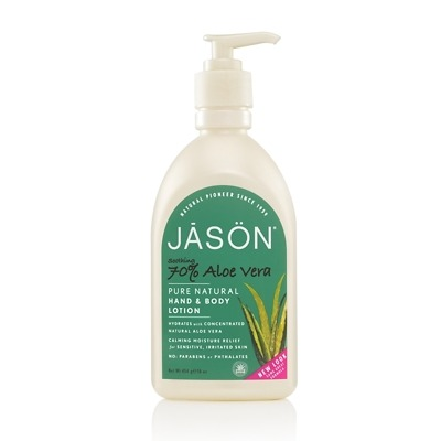 JASON Soothing 70% Aloe Vera Pure Natural Hand & Body Lotion 454g