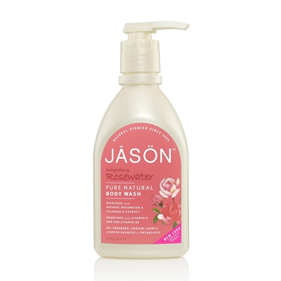 JASON Invigorating Rosewater Pure Natural Body Wash 887ml
