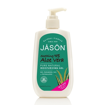JASON Soothing 98% Aloe Vera Pure Natural Moisturizing Gel 227g