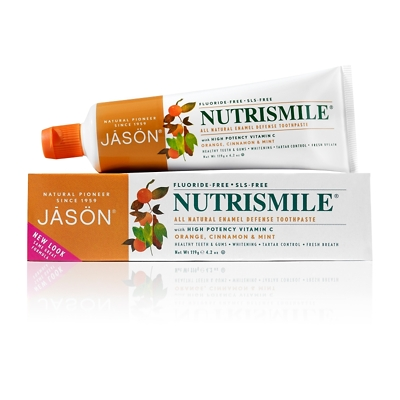 JASON NutriSmile Enamel Defense All Natural Toothpaste 119g