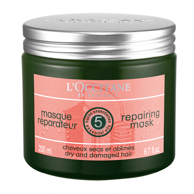 L'Occitane Repairing Mask for Dry & Damaged Hair 200ml