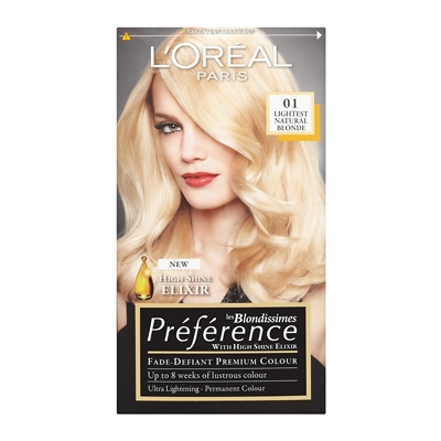 L'Oréal Paris Recital Preference Les Blondissimes Permanent Hair Colour