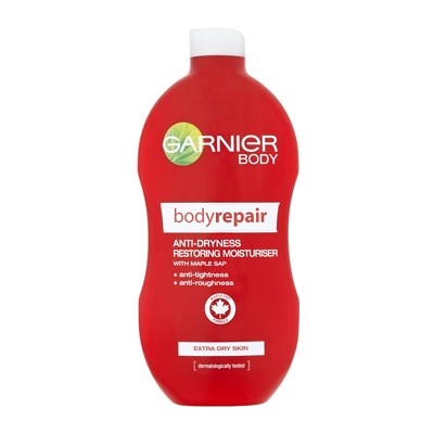 Garnier Body Bodyrepair Anti-Dryness Restoring Moisturiser Extra Dry Skin 400ml