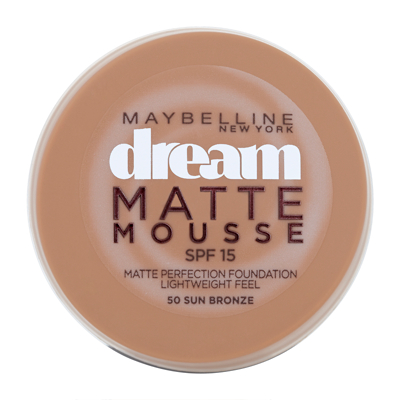 Maybelline New York Dream Matte Mousse Foundation 18ml
