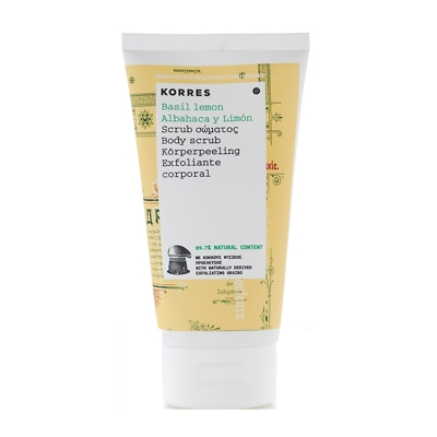 Korres Basil Lemon Body Scrub 150ml