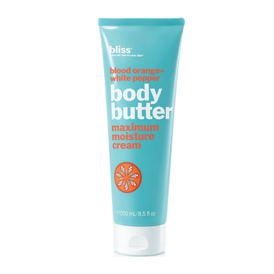 bliss blood orange + white pepper body butter 200ml - Paraben Free