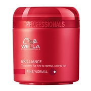 Wella Professionals Brilliance Treatment for Fine to Normal, Coloured Hair 150ml