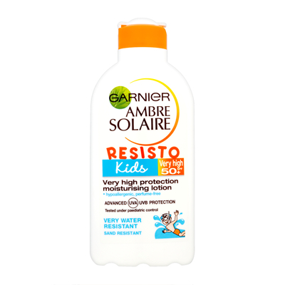 Garnier Ambre Solaire Resisto Kids Very High Protection Moisturising Lotion SPF 50+ 200ml