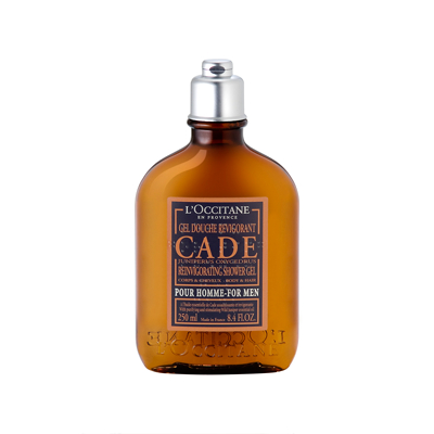 L'Occitane Men Cade Reinvigorating Shower Gel for Body & Hair 250ml