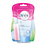 Veet In-Shower Hair Removal Cream - Sensitive Skin 150ml
